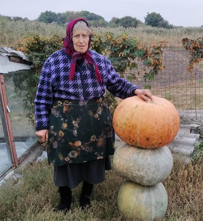 Зінаїда КІР'ЯН з села Новокалинове Ясинуватського району